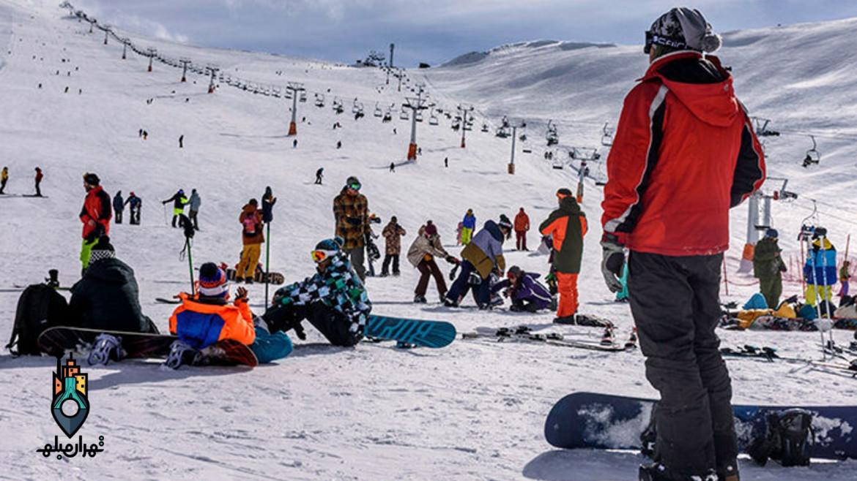در این روزهای کرونایی در پیست اسکی دیزین چه میگذرد؟