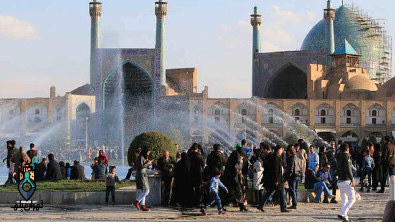 انفجاری مهیب در میدان نقش جهان اصفهان!