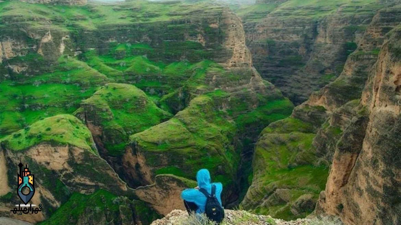 دره کول خرسان | عجیب ترین دره ایران