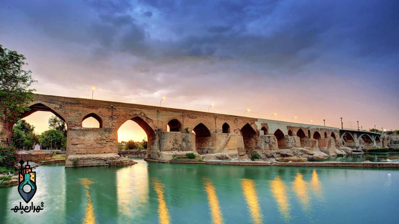 پل ساسانی | قدیمی ترین پل جهان!
