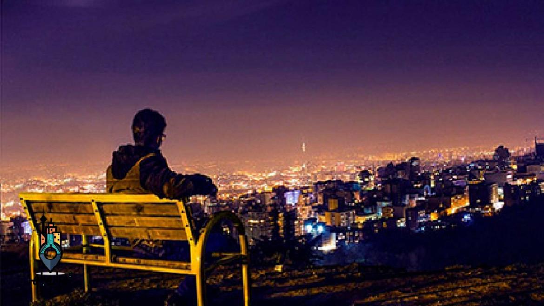 بام تهران محلی برای دورهمی های شبانه
