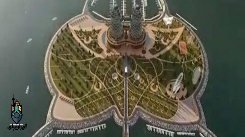 شروع پروژه احداث جزیره مصنوعی در بندر نوشهر