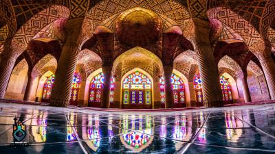 مسجد نصیر ملک یکی از زیباترین جاهای دیدنی شیراز