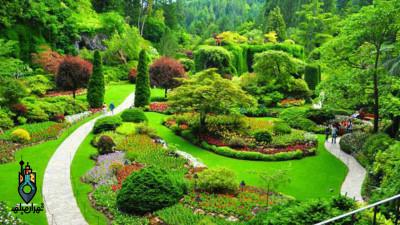 بازدید از باغ گیاه شناسی ملی ایران و بخش های مختلف آن