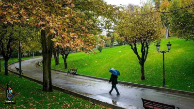 پاییز زیبای تهران؛ در پارک ملت