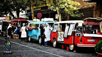 خیابان 30 تیر ،پاتوقی برای شکم گردی های شبانه