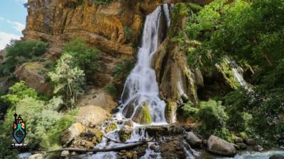 آبشار آب سفید | زیباترین آبشار لرستان