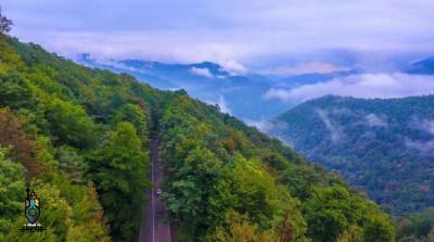 جاده اسالم به خلخال | زیباترین جاده ایران